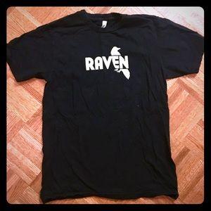"American Apparel Black ""Raven"" T-shirt"